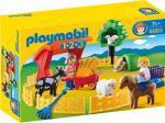 Playmobil 1.2.3 - Streichelzoo (6963)