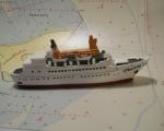"Modelschiff ""MS Atlantis"""
