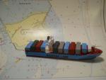 "Modelschiff ""Emma Maersk"""