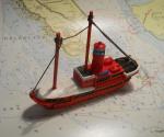 """Modelschiff """"Hamburg"""""""