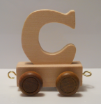"""Buchstabenzug Holzbuchstabe """"C"""""""