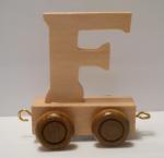 """Buchstabenzug Holzbuchstabe """"F"""""""