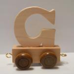 """Buchstabenzug Holzbuchstabe """"G"""""""