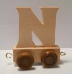 """Buchstabenzug Holzbuchstabe """"N"""""""