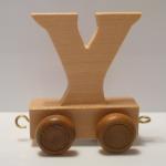 "Buchstabenzug Holzbuchstabe ""Y"""