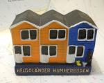 Model Helgoländer Hummerbude Hummerbude Organge/ Blau