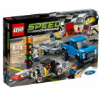 Lego (75875) Speed Champions Ford F-150 Raptor & Ford Model A Hot Rod