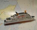 """Modelschiff """"MS Wappen von Hamburg"""""""