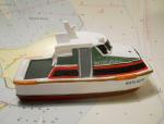 """Modelschiff """"Witte Kliff"""""""
