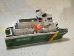 "Modelschiff ""MS Helgoland"""