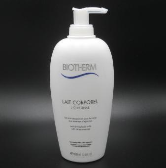 Biotherm Body Care - Moisturizing - Lait Corporel Anti-Dessechant- Anti-Drying Body Milk 400 ml