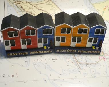 Model Helgoländer Hummerbude