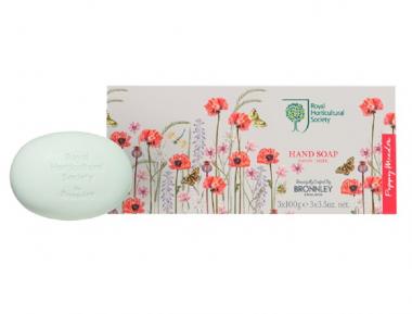 RHS Poppy Meadow Luxus Seife