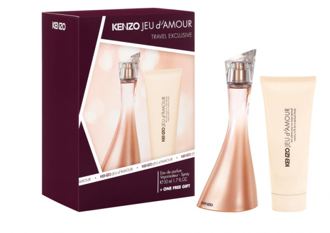 Kenzo Jeu d'Amour Set: Eau de Parfum 50 ml + Bodymilk