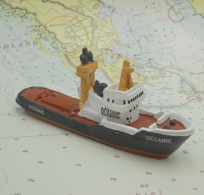 """Modelschiff """"Oceanic"""""""