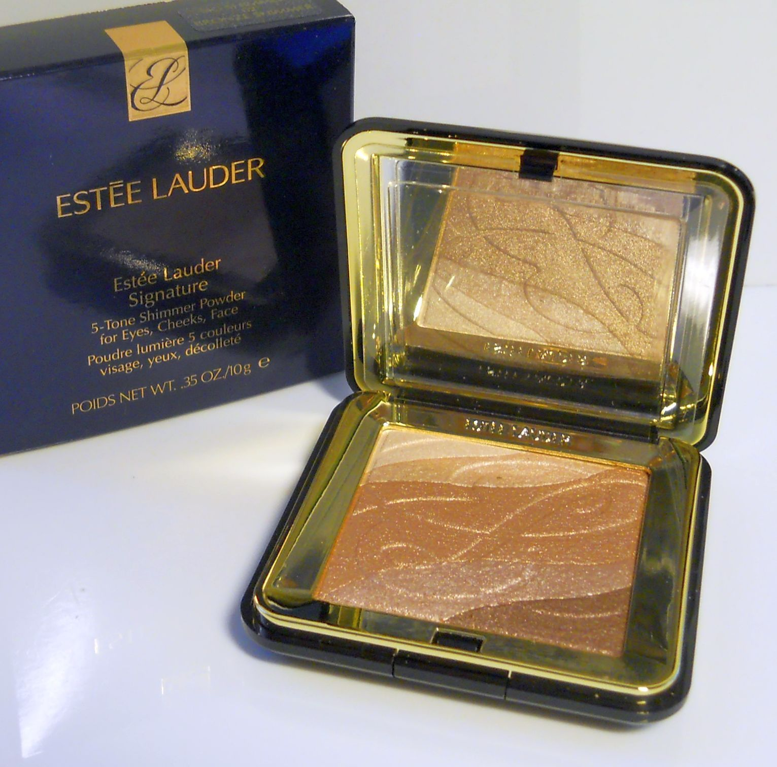 Estee Lauder - Signatur 5-Tone Shimmer Powder - 02 (Bronze Shimmer ...